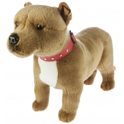 Staffordshire Bull Terrier Winston by Bocchetta Plush Toys