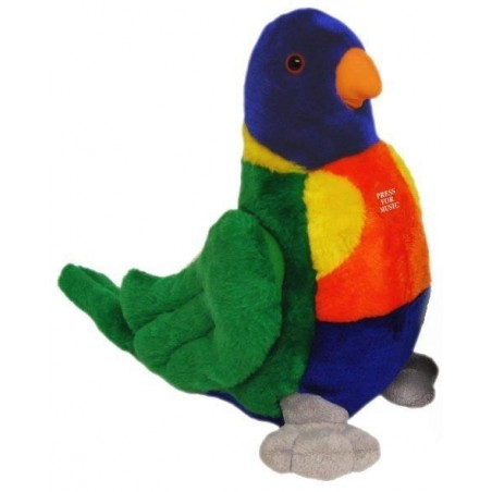 Small Lorikeet with Sound Chip plush toy by Elka