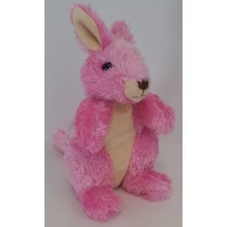 Hug'ems Pink soft toy Kangaroo by Wild Republic
