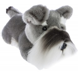 Scoobie Plush Toy Schnauzer by Bocchetta Plush Toys