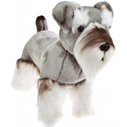 Sherlock Schnauzer Plush Toy by Bocchetta Plush Toys