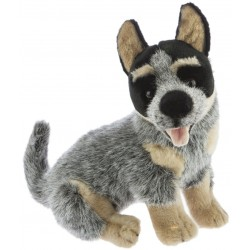 Australian Cattle Dog Bluey plush toy by Bocchetta