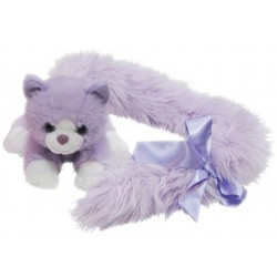 Cat Princess Long Tail Purple plush toy by Korimco