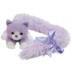 Cat Princess Long Tail Purple plush toy by Korimco
