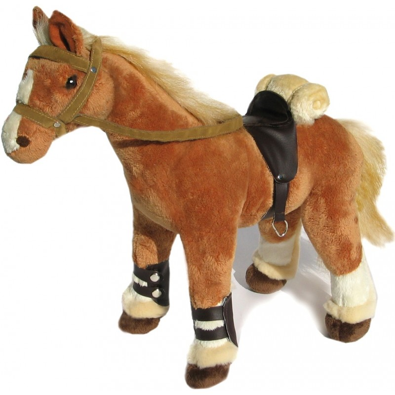 Brabanter Horse Sahara plush stuffed toy by Bocchetta Plush Toys