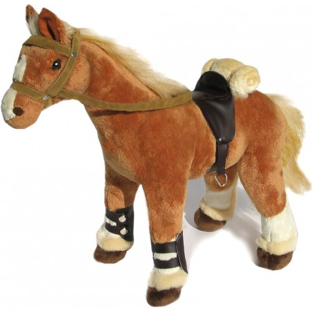 Brabanter Horse Sahara plush stuffed toy by Bocchetta Plush Toys