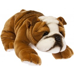 Bulldog Boston plush stuffed toy by Bocchetta Plush Toys
