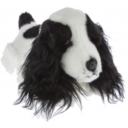 Cocker Spaniel Dog  Cleo plush stuffed toy by Bocchetta Plush Toys