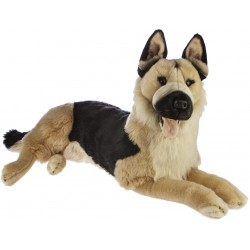 German Shepherd Dog Caesar plush stuffed toy by Bocchetta Plush Toys