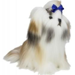 ShihTzu Dog  Muffin plush stuffed toy by Bocchetta Plush Toys