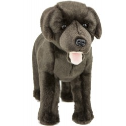 Chocolate Labrador Dog Mocha plush stuffed toy by Bocchetta Plush Toys