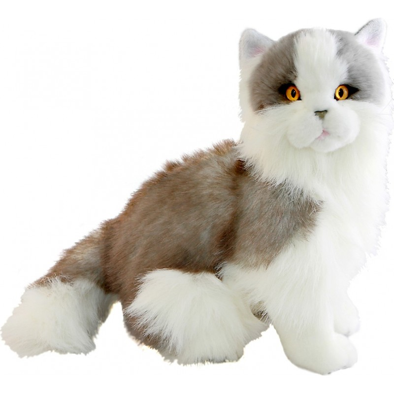 Cat Norwegian Grey Missy plush stuffed toy by Bocchetta Plush Toys