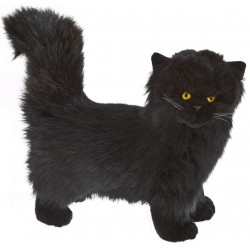 Cat Black Sheffield plush stuffed toy by Bocchetta Plush Toys