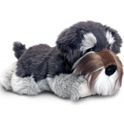 Schnauzer Fergus Plush Stuffed toy by Keel Toys