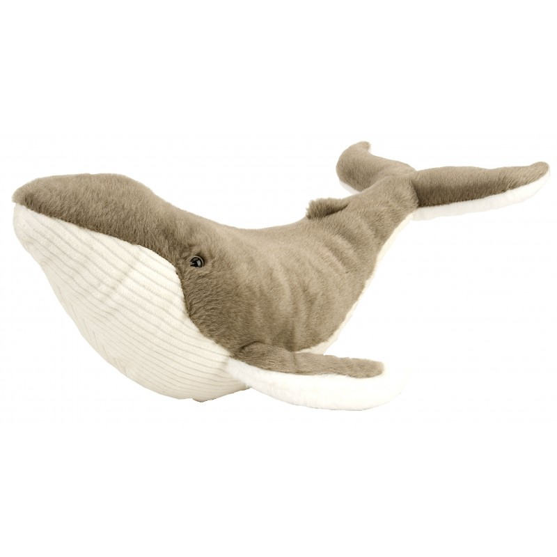 Whale Humpback Grey plush stuffed by Wild Republic