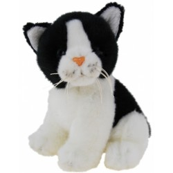 Black and White Kitten Cat by Elka