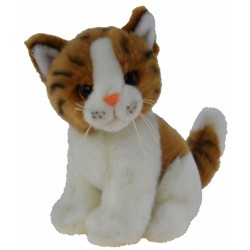 Orange Tabby Kitten Cat Tigger  by Elka