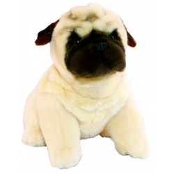 Pug Carlotta stuffed plush toy by Bocchetta Plush Toys