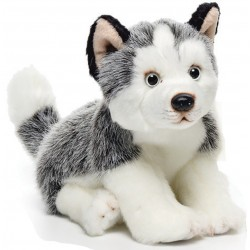 Siberian Husky Small Plush Toy by Nat & Jules