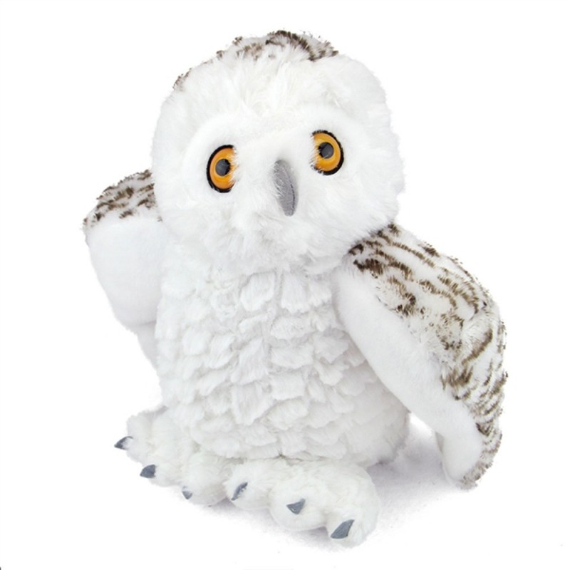 Owl Snowy Cuddlekins plush stuffed toy by Wild Republic