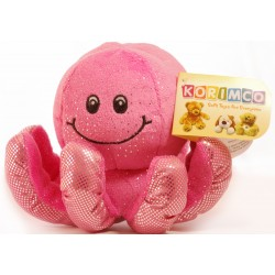 Glitzy Octopus Bright  Pink by Korimco