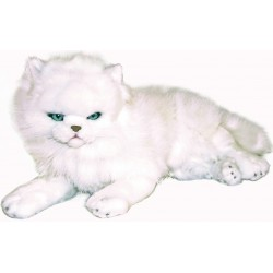White Cat Snowflake plush toy by Bocchetta
