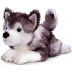 Siberian Husky Plush Dog Storm by Keel Toys 35cm