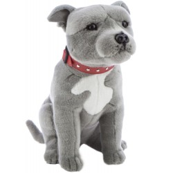Staffordshire Bull Terrier Staffy Storm by Bocchetta Plush Toys