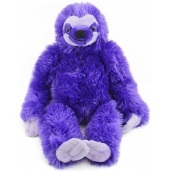 Three Toed Purple Sloth by Wild Republic