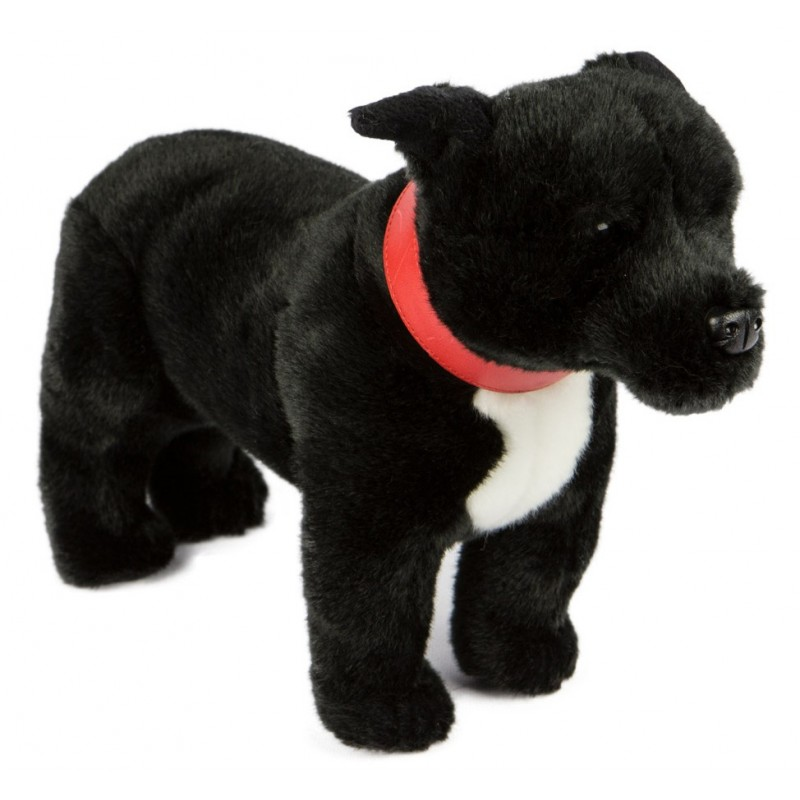 Staffordshire Bull Terrier Staffy Spike by Bocchetta Plush Toys
