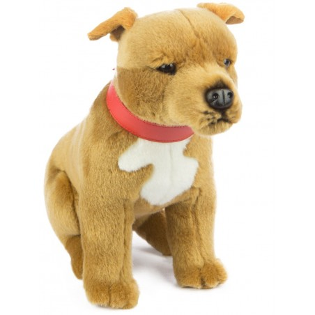 Staffordshire Bull Terrier Staffy Pax by Bocchetta Plush Toys