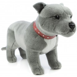 Staffordshire Bull Terrier Thunder by Bocchetta Plush Toys