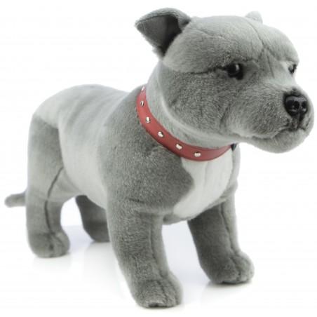 Staffordshire Bull Terrier Thunder by Bocchetta Plush Toys