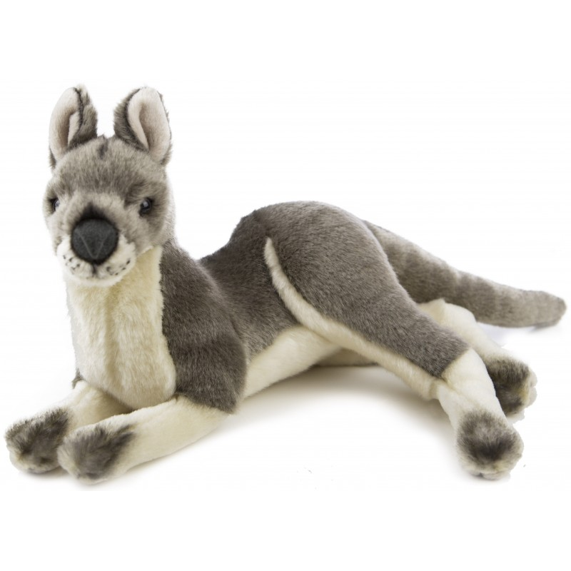 Kangaroo Grey Joy by Bocchetta Plush Toys