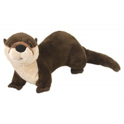 River Otter Cuddlekins Plush Stuffed Toy by Wild Republic