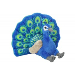 Peacock Plush Stuffed Toy by Wild Republic