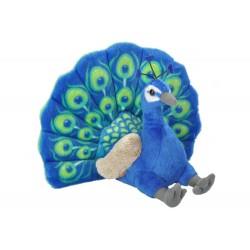 Peacock Plush Stuffed Toy by Wild Republic