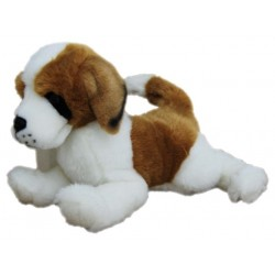 St Bernard Plush Stuffed Toy Dog