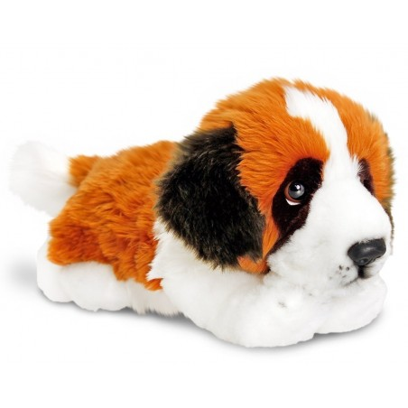 St Bernard Plush Toy Dog