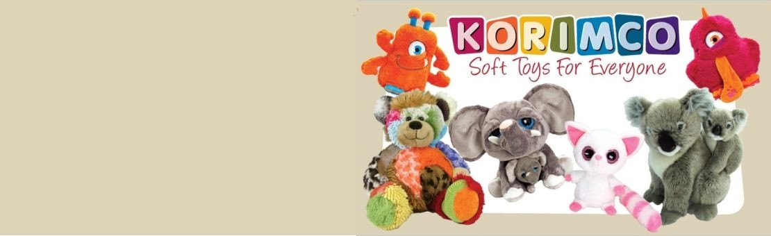 Buy Korimco and  Keel Toys stuffed animals