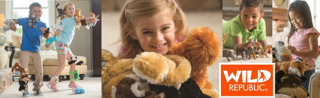 Wild Republic plush toys at cheapest prices online